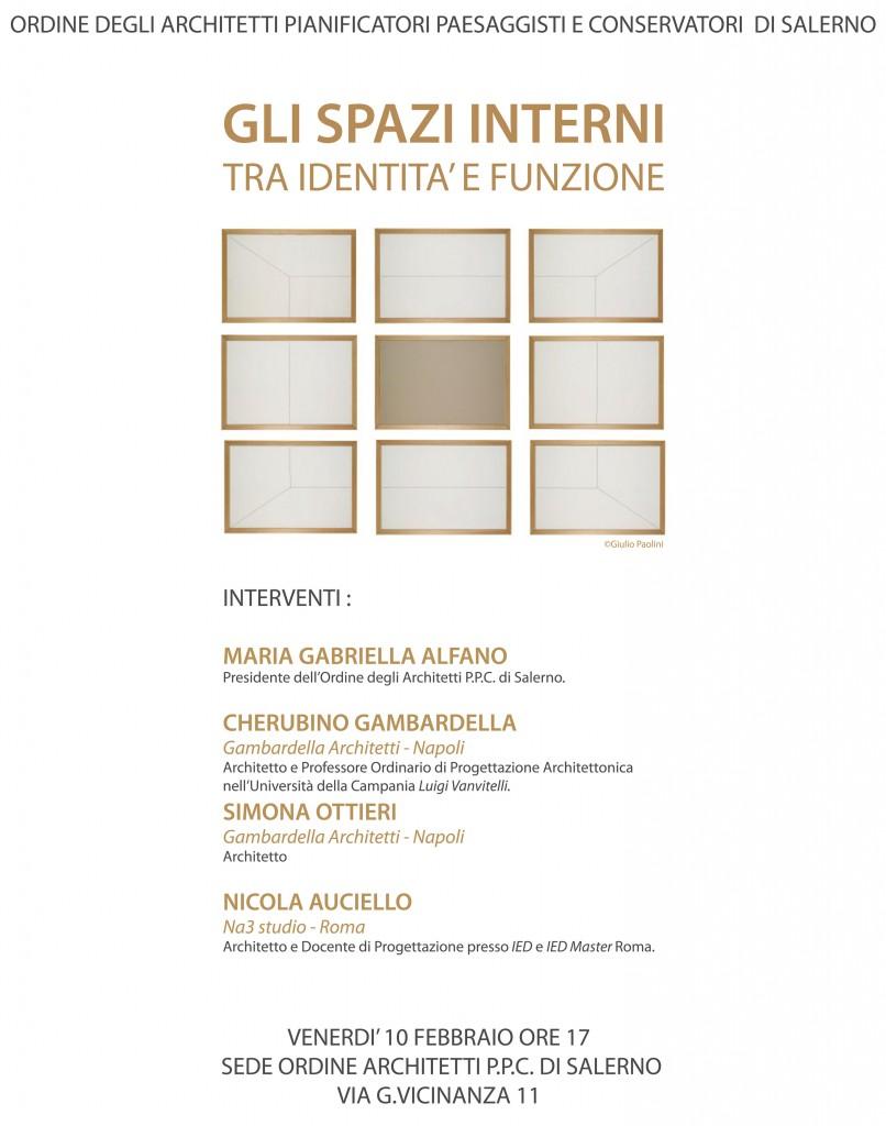 CONFERENZA _Ordine Architetti Salerno